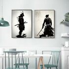 Japanese Samurai Canvas Oil Painting Modern Canvas Wall Art Pictures Home Decor