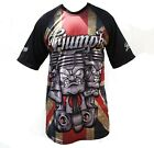 Triumph Motorcycle T Shirt Biker Three Pistons Full Union Jack Allover Print £15.99 GBP on eBay