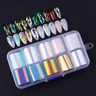 Nail Foils or Glass Paper Nail Art Transfer Stickers Decals Nails Tools Salon