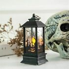Halloween Decoration Props Led Candles Light Vintage Castle Bats Pumpkin Lantern