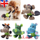 Funny Soft Pet Puppy Chew Play Squeaker Squeaky Cute Plush Sound For Dog Toys UK