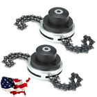 Coil 65Mn Chain Brushcutter Garden Grass For Lawn Mower Trimmer Head/Chain US