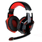 EACH G2000 Stereo Gamer Gaming Headset PC Headphones With Mic LED Earphone 3.5mm
