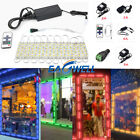 US 10FT 160FT 5054 SMD 6 led Module Lights Fairy Strip Lamp With Remote + Power