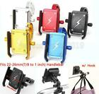 7/8 to 1'' Motorcycle Cell Phone Holder For Harley Davidson Street Glide Touring $20.9 USD on eBay
