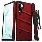 Samsung Galaxy NOTE 10 Case ZIZO BOLT with rotatable holster clip and Kick Stand