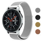 StrapsCo Stainless Steel Watch Band Strap Compatible with Samsung Galaxy Watch