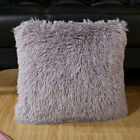 Luxury Fluffy Cushion Covers Furry Scatter Decorative Soft Pillow Case Plush UK