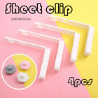 4pcs Triangle Bed Sheet Mattress Holder Fastener Grippers Clips Suspender Straps image