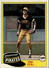 1981 Topps Baseball Assorted Singles #501-726 U-Pick!