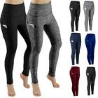 Womens High Waist Yoga Pants With Pocket Leggings Fitness Sport Workout Athletic