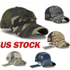 New Baseball Cap Tactical Army Cotton Hat US flag camouflage baseball cap