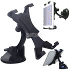 US 360° Rorate Car Windshield Holder Desktop Mount for Cellphone Tablet iPad GPS