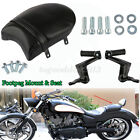 Rear Seat Sissy Passenger FootPegs Backrest Mount For Victory HighBall
