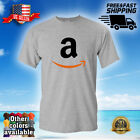 AMAZON A Logo Men's T-Shirt Tee Adult Unisex FAST SHIPPING - 003 image