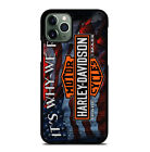 Logo Harley Davidson For iiPhone 6 7 8 Plus XS Max Xr 11 Pro $20.97 CAD on eBay
