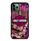 Nice Pink Harley Davidson Logo Phone Case For iPhone 6 7 8 Plus XS Max Xr 11 Pro $15.9 USD on eBay