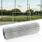 Galvanised Steel Wire Mesh Fencing Square Hole Aviary Fence Net Flower Protector