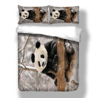 Animal Panda Bedding Duvet Cover Set Pillow Case Queen King Twin Full Size Kids