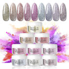 LILYCUTE 5g Shiny Dipping Acrylic Nail Art Powder Dust Tips No UV Needed Decors
