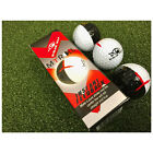 Masters Golf Eyeline MyRoll 50/50 Training Balls New Putting Chipping Aid 3 Pack