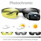 Mens Photochromic Polarized Sunglasses Day and Night Driving Sports Glasses