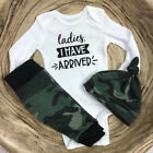 US Newborn Infant Baby Boy Long Sleeve T-shirt Leggings Pant Outfit Clothes