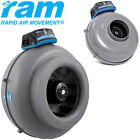 RAM Inline Duct Fans High Pressure Air Movement 4