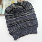 Mens Womens Winter Warm Knitted Crochet Slouch Baggy Beanie Caps Ski Slouch Hats