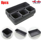8pcs Drawer Organiser Set Desk Drawer Jewellery Clothing Kitchen Drawer Tidy Uk