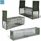 Catcher Cage Animal Rodent Trap Mousetrap 1/2 Door Pest Control Indoor Outdoor