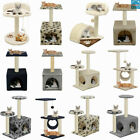 Cat Scratching Tree Toys Scratcher Tower Post Climbing Activity Centre Sisal Bed