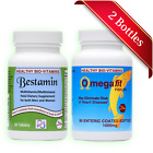 Halal Bestamin MultiVit  + Omegafit Fish Oil Made in USA by Healthy Bio-Vitamins
