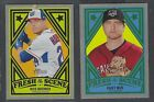 2019 Topps Heritage Minor League FRESH ON THE SCENE Complete Your Set You Pick