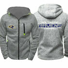 Baltimore Ravens Fans Hoodie Sporty Jacket Sweater Zipper Coat Spring Autumn Top $23.99 USD on eBay