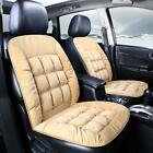 2 PCS Car Interior Winter Seat Protector Universal Warm Plush Car Seat Cover