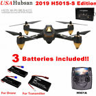 Hubsan X4 H501S Brushless Drone RC Quadcopter Live FPV 1080P GPS RTF+3 Battery