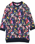 LOSAN Girl's Sweatshirt Dress with Tights, Sizes 2-7