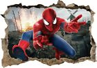 Spiderman Avenger Superhero Wall Art Stickers Decal Mural Kids Bedroom Decor Z14