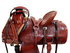 WESTERN SADDLE RANCH HORSE RODEO SHOW COWBOY USED LEATHER ROPER TACK 15 16 17