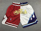 New Adult Size Chicago Bulls Utah Jazz 1997 Finals Shorts Size S-XXL