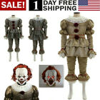 Movie It: Chapter Two Pennywise Cosplay Clown Halloween Costumes Kids Adult Suit