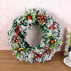 Christmas Wreath Hanging Ornament Decor For Xmas Party Door Wall Garland Decors