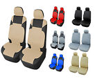PU Leather 2 Front Auto Car Seat Covers Compatible to Dodge #R153 $19.0 USD on eBay