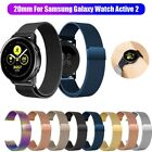 For Samsung Galaxy Watch Active 2 Magnetic Milanese Loop Wristwatch Band Strap image