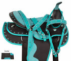 Used Western Saddles Trail Barrel Racing Jewel Blingy Horse Tack 15 16 17 18 in
