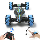 CHRISTMAS GIFT       4WD GESTURE CONTROL TOY DOUBLE-SIDED STUNT CAR TWISTING