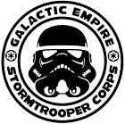 Star Wars Stormtrooper Corps Vinyl Decal Sticker Car Van Laptop Tablet $10.64 AUD on eBay
