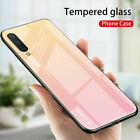 For Xiaomi Mi 9 F1 A2 A3 lite Shockproof Gradient Tempered Glass Back Case Cover