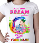 Jojo Siwa Personalised T-Shirt Venue  Tour.100% COTTON/GIRLS